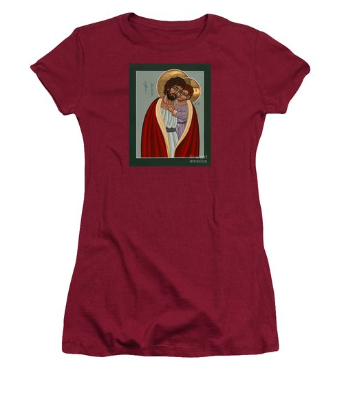 St. Joseph And The Holy Child 239 Women's T-Shirt (Junior Cut) by William Hart McNichols