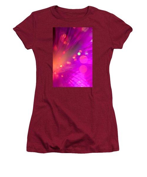 Women's T-Shirt (Junior Cut) featuring the photograph Strange Condition by Dazzle Zazz