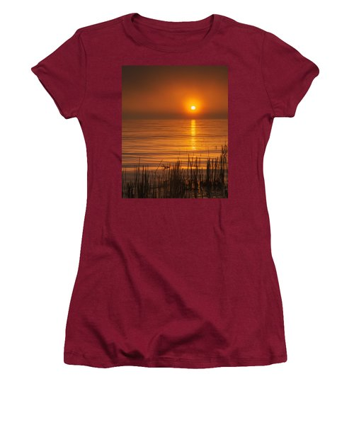 Sunrise Through The Fog Women's T-Shirt (Athletic Fit)