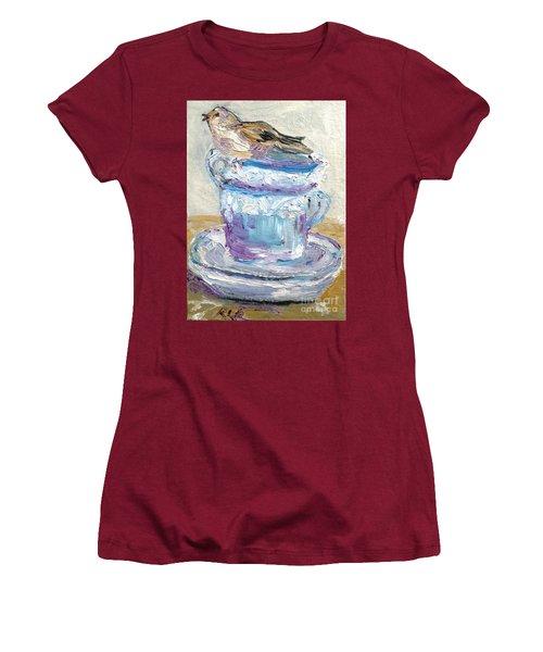 Tea Time  Women's T-Shirt (Athletic Fit)