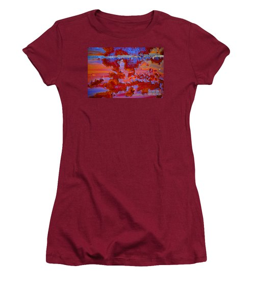 Women's T-Shirt (Junior Cut) featuring the photograph The Darkside #3 by Christiane Hellner-OBrien