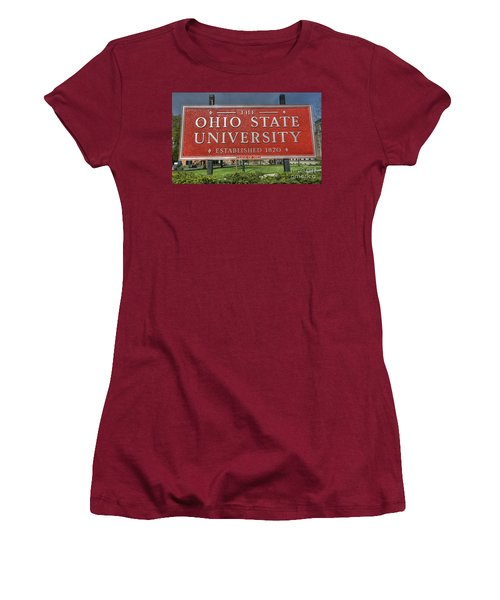 The Ohio State University Women's T-Shirt (Athletic Fit)