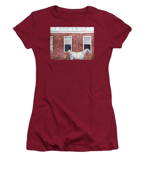 The Ride Home Women's T-Shirt (Junior Cut) by LeAnne Sowa