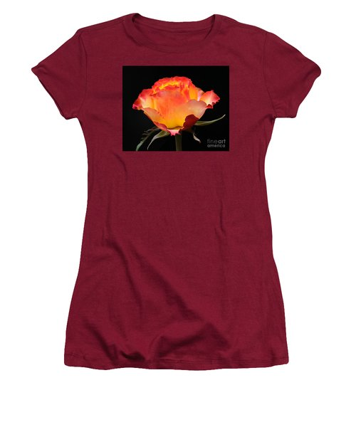 Women's T-Shirt (Junior Cut) featuring the photograph The Rose by Vivian Christopher
