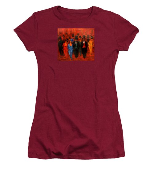 Theatre Night  Women's T-Shirt (Athletic Fit)