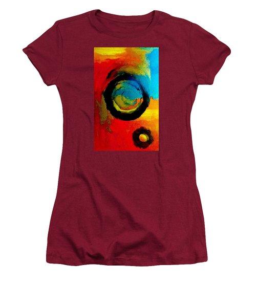Touring A Parallel Universe Women's T-Shirt (Junior Cut) by Lisa Kaiser