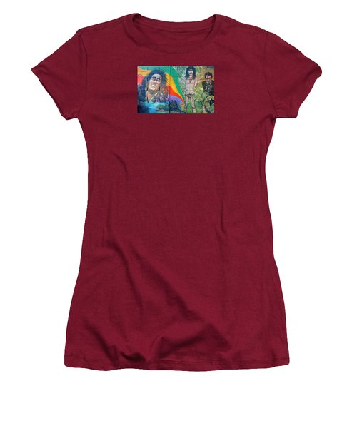 Urban Graffiti 1 Women's T-Shirt (Junior Cut)