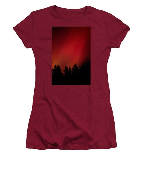 Aurora 01 Women's T-Shirt (Athletic Fit)