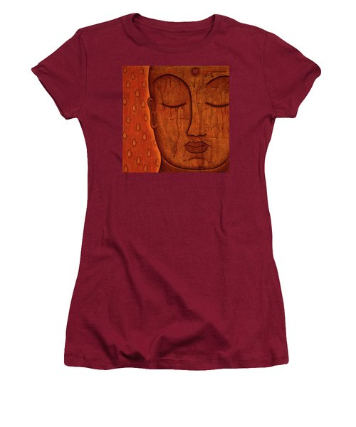 Women's T-Shirt (Junior Cut) featuring the mixed media Awakened Mind by Gloria Rothrock