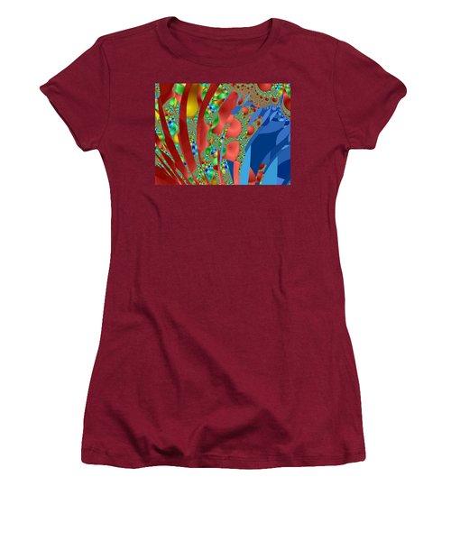 Complex Garden Women's T-Shirt (Junior Cut) by Mark Greenberg