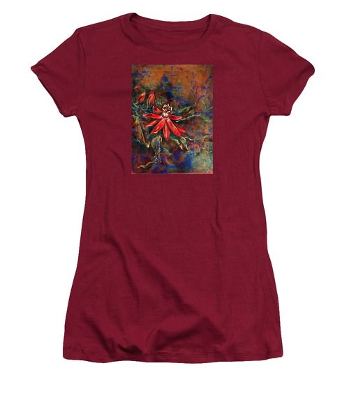 Copper Passions Women's T-Shirt (Junior Cut) by Ashley Kujan