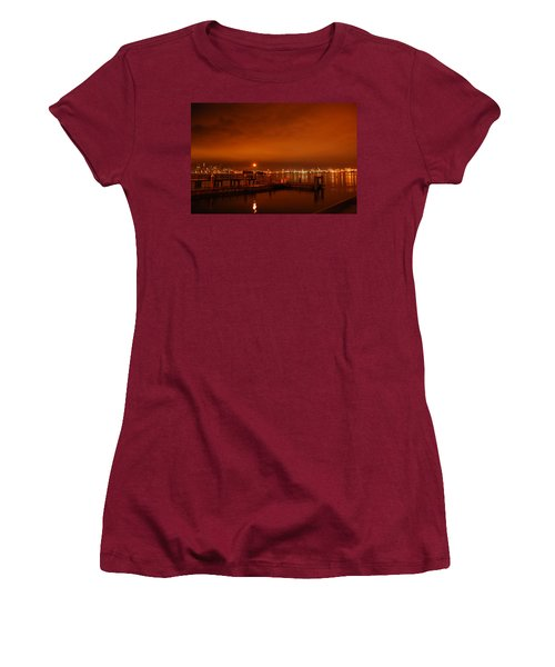 December Daybreak Women's T-Shirt (Athletic Fit)