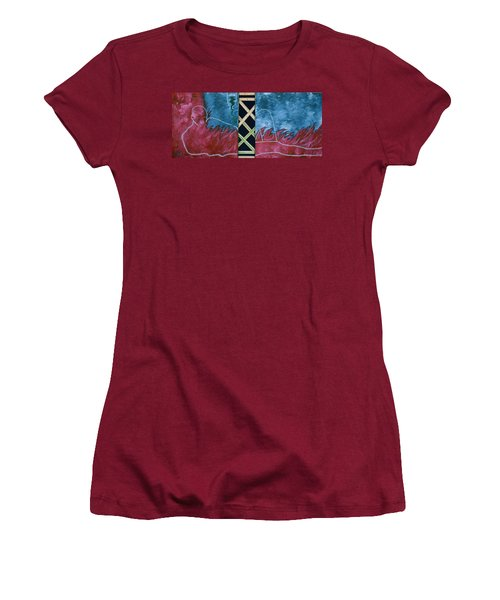 Measure Of A Man Women's T-Shirt (Junior Cut) by Lisa Brandel