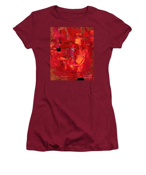 Turmoil In Tahrir Square Cairo Women's T-Shirt (Athletic Fit)