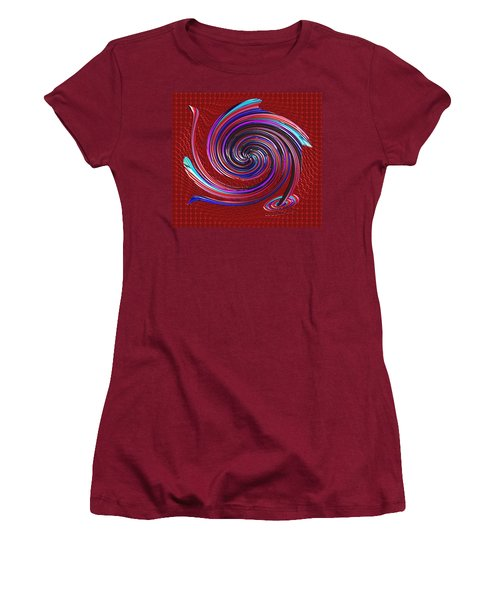 Women's T-Shirt (Junior Cut) featuring the digital art When The Stirring Stops by Alec Drake