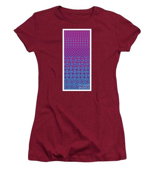 Bibi Khanum Ds Patterns No.4 Women's T-Shirt (Athletic Fit)