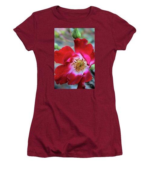 Flower Dance Women's T-Shirt (Junior Cut) by Victor K