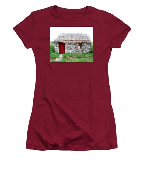 Irish Cottage Women's T-Shirt (Athletic Fit)