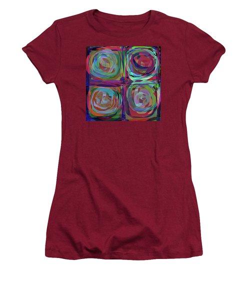 Letter To Kandinsky Women's T-Shirt (Junior Cut) by Danica Radman