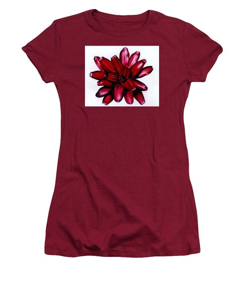Neoregelia 'christmas Cheer' Women's T-Shirt (Athletic Fit)