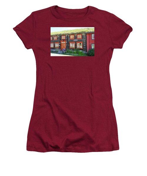 Old House Women's T-Shirt (Junior Cut) by Thomas M Pikolin