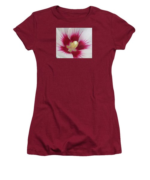 Women's T-Shirt (Junior Cut) featuring the photograph Open Wide by Jeanette Oberholtzer