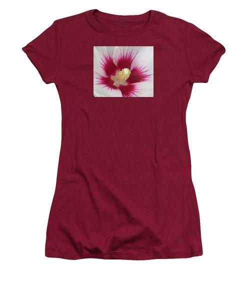 Open Wide Women's T-Shirt (Athletic Fit)