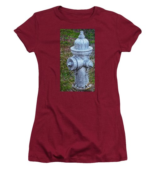 Painted Fireplug Women's T-Shirt (Athletic Fit)