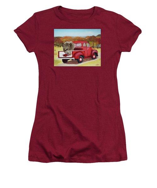 Ridin' With Razorbacks 2 Women's T-Shirt (Junior Cut) by Belinda Nagy