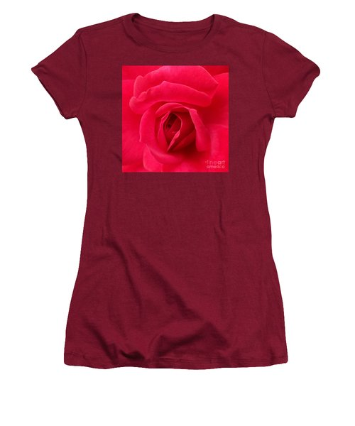 Rose Women's T-Shirt (Junior Cut) by A K Dayton