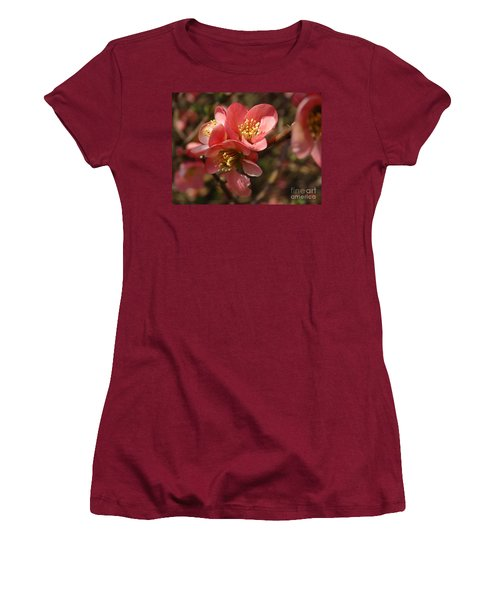 Spring Blooms Women's T-Shirt (Athletic Fit)