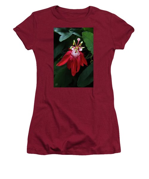 Women's T-Shirt (Junior Cut) featuring the photograph With Passion by Geri Glavis