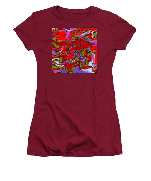 1695 Abstract Thought Women's T-Shirt (Athletic Fit)