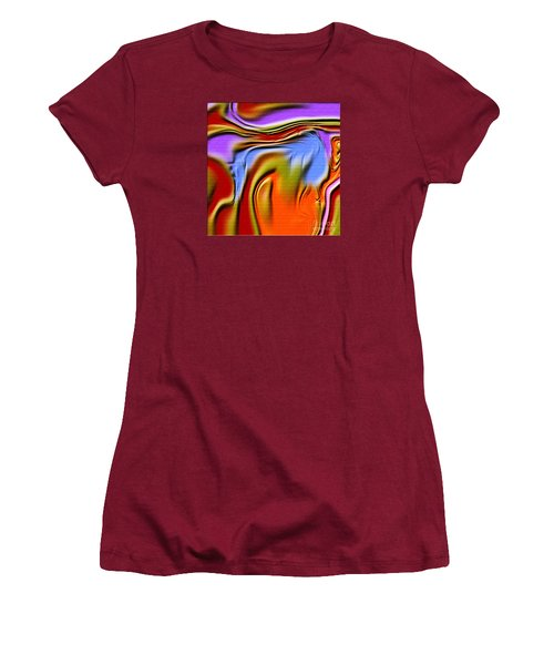 1765 Abstract Thought Women's T-Shirt (Athletic Fit)