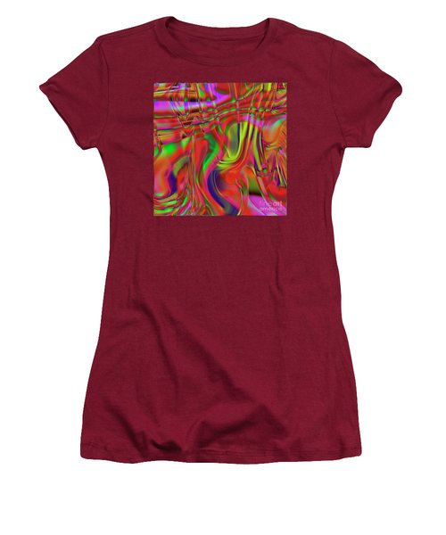1799 Abstract Thought Women's T-Shirt (Athletic Fit)