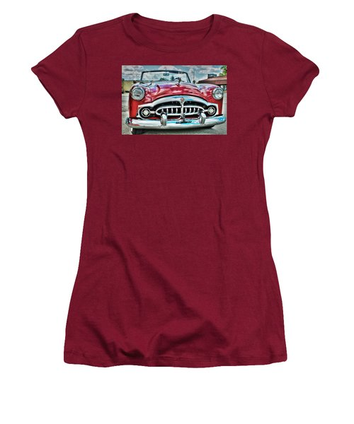 1952 Packard Women's T-Shirt (Athletic Fit)