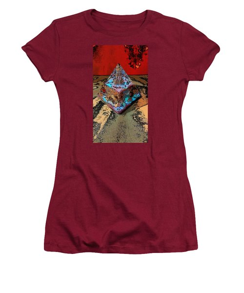 Abstract Orgone Women's T-Shirt (Athletic Fit)