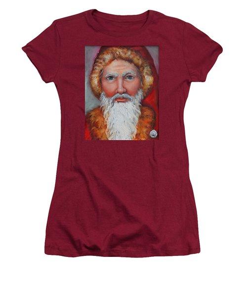 3d Santa Women's T-Shirt (Athletic Fit)