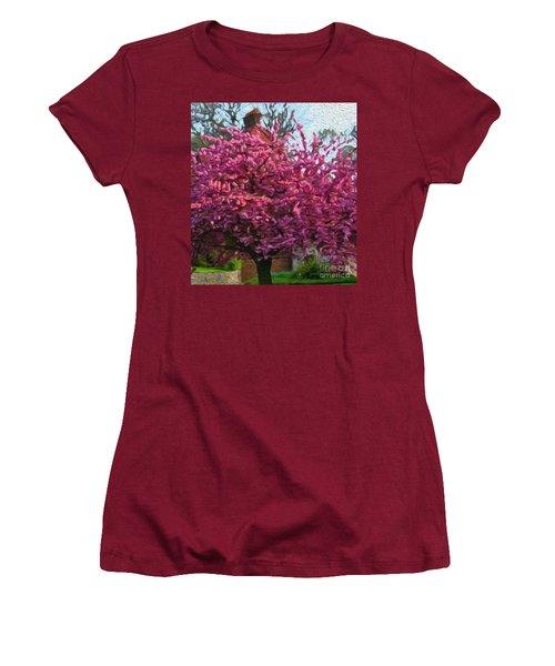 4-19-2057l Women's T-Shirt (Athletic Fit)
