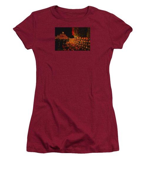 Pumpkinfest 2015 Women's T-Shirt (Junior Cut) by Robert Clifford