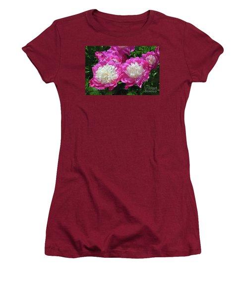 A Bouquet Of Peonies Women's T-Shirt (Junior Cut) by Eva Kaufman