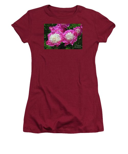 A Bouquet Of Peonies Women's T-Shirt (Athletic Fit)