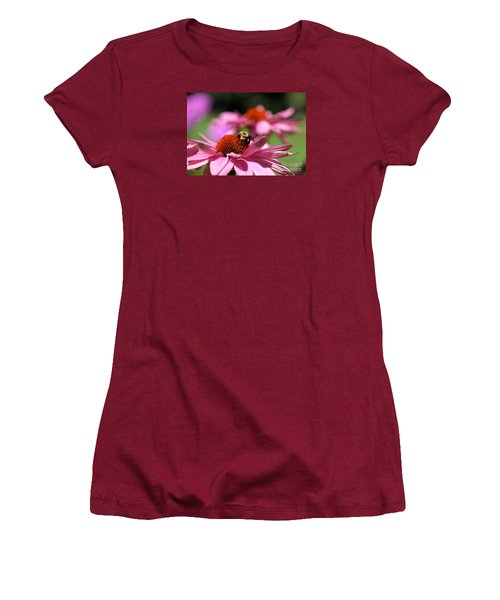 Women's T-Shirt (Junior Cut) featuring the photograph A Day's Work by Susan  Dimitrakopoulos