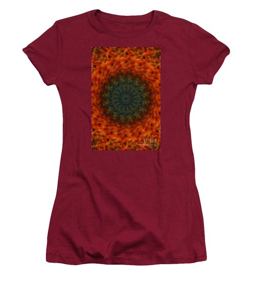 Abstract Fractal  Women's T-Shirt (Athletic Fit)