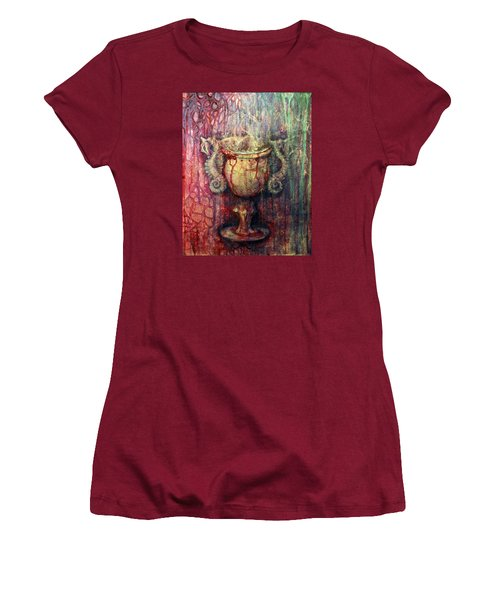 Ace Of Cups Women's T-Shirt (Junior Cut) by Ashley Kujan