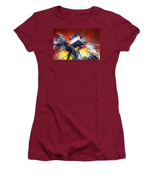 Women's T-Shirt (Junior Cut) featuring the photograph After Effect by Wayne Sherriff