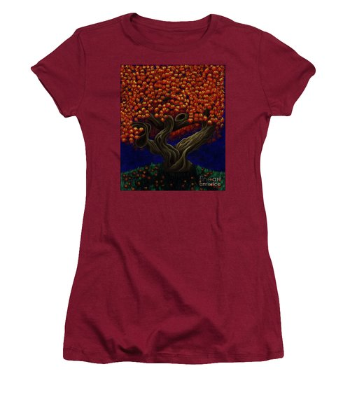 Aged Autumn Women's T-Shirt (Athletic Fit)