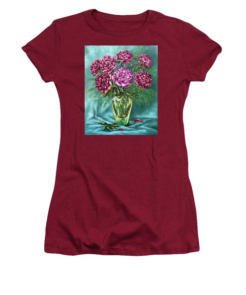 All Things Beautiful Women's T-Shirt (Junior Cut) by Karen Showell