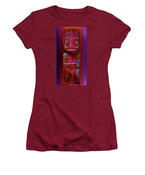 Women's T-Shirt (Junior Cut) featuring the photograph Altered State by WB Johnston