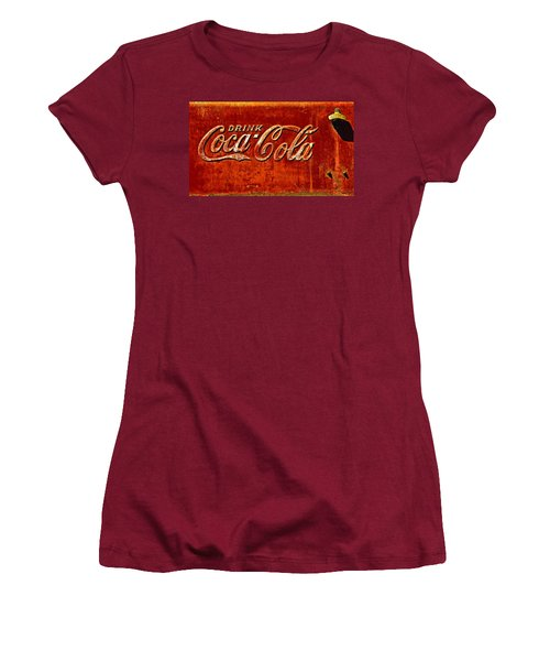 Antique Soda Cooler 3 Women's T-Shirt (Athletic Fit)